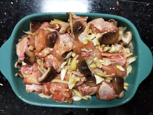 香菇辣酱蒸滑鸡怎么炒