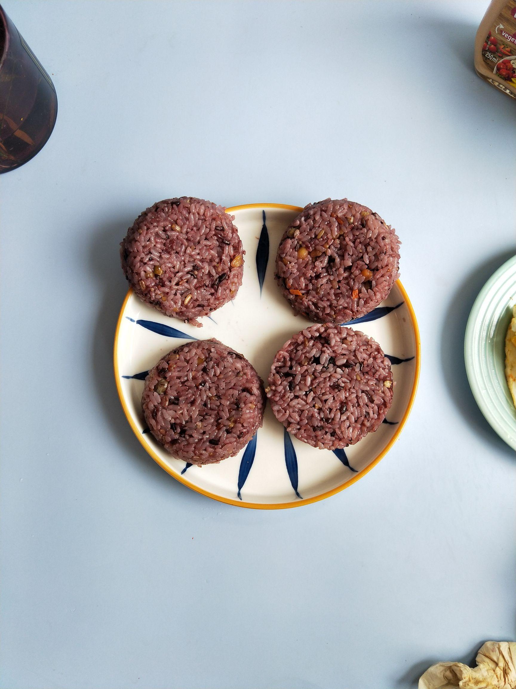 多谷米饭汉堡的家常做法