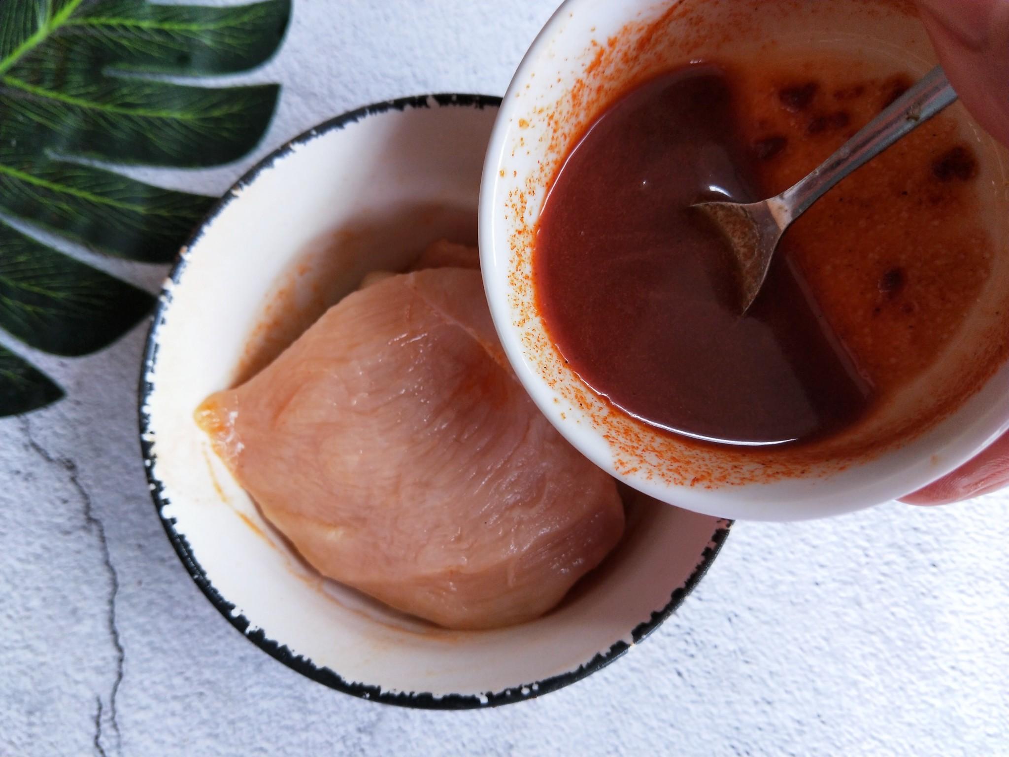 空气炸锅做的鸡扒,无油低脂可香了的家常做法