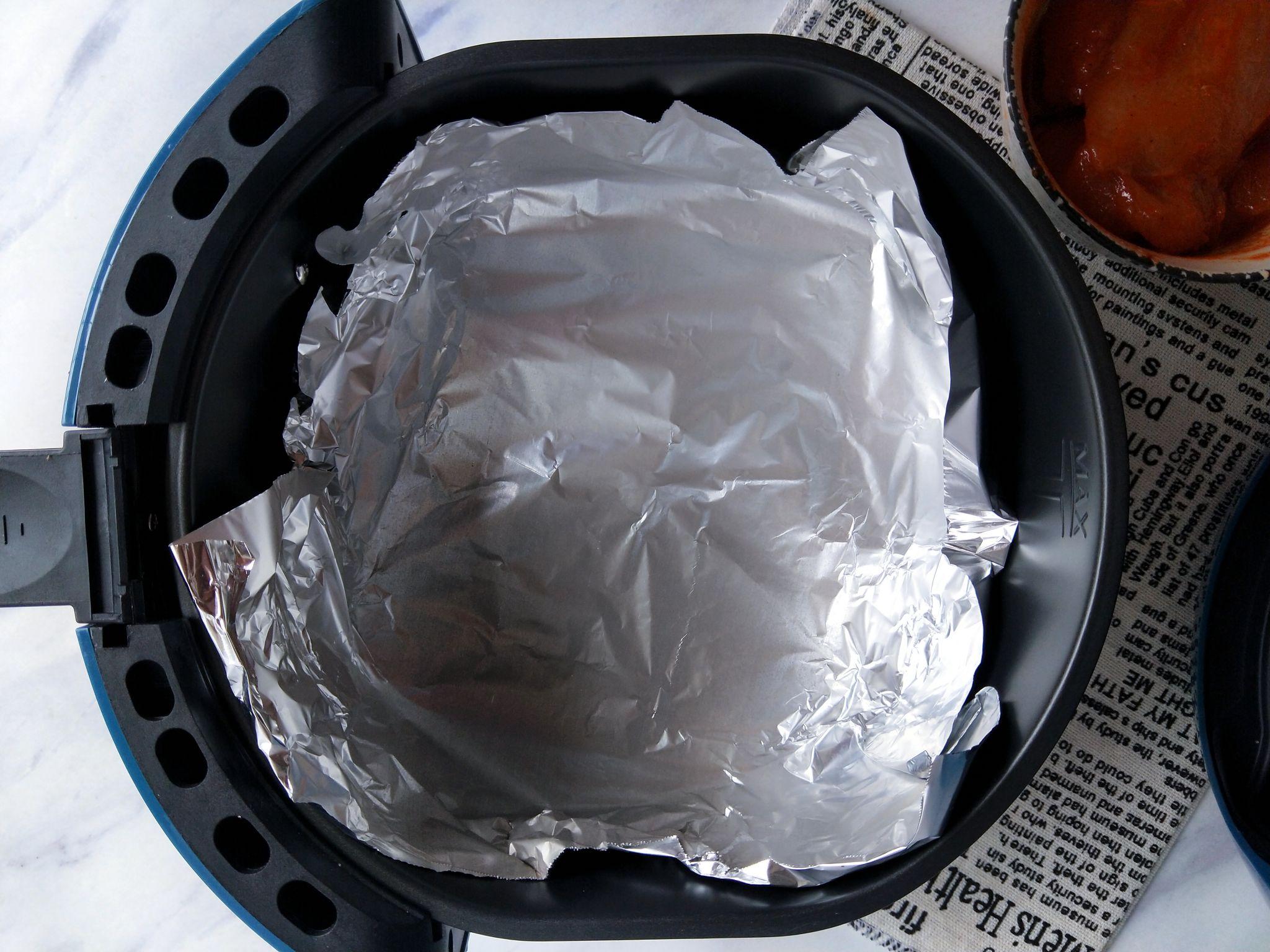 空气炸锅做的鸡扒,无油低脂可香了怎么吃