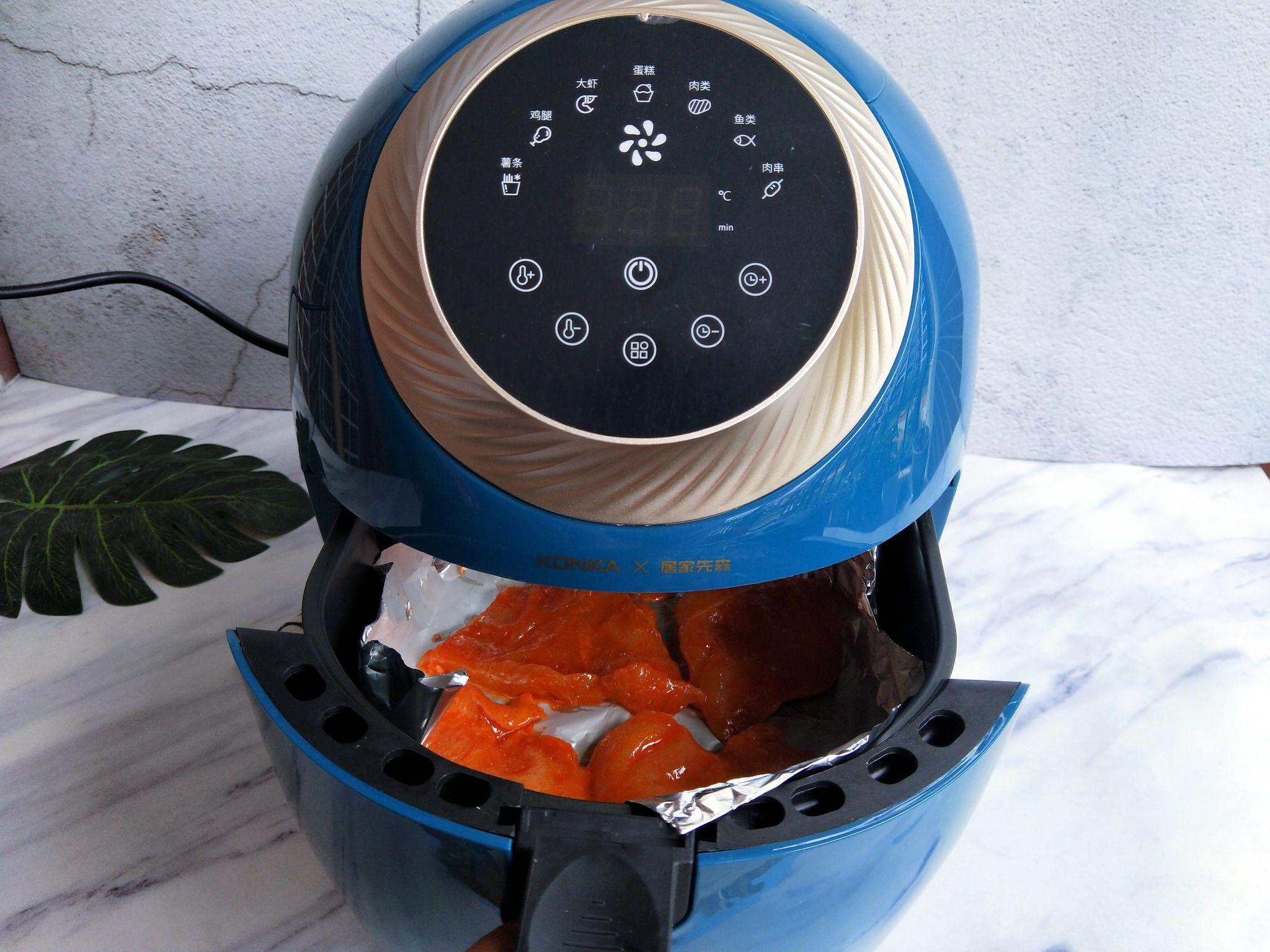 空气炸锅做的鸡扒,无油低脂可香了怎么煮