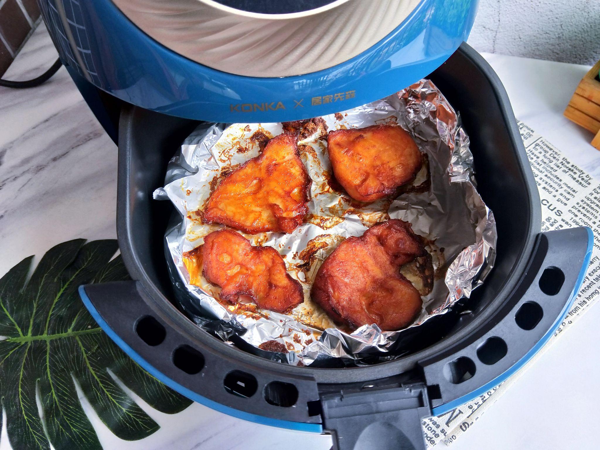 空气炸锅做的鸡扒,无油低脂可香了怎么炖