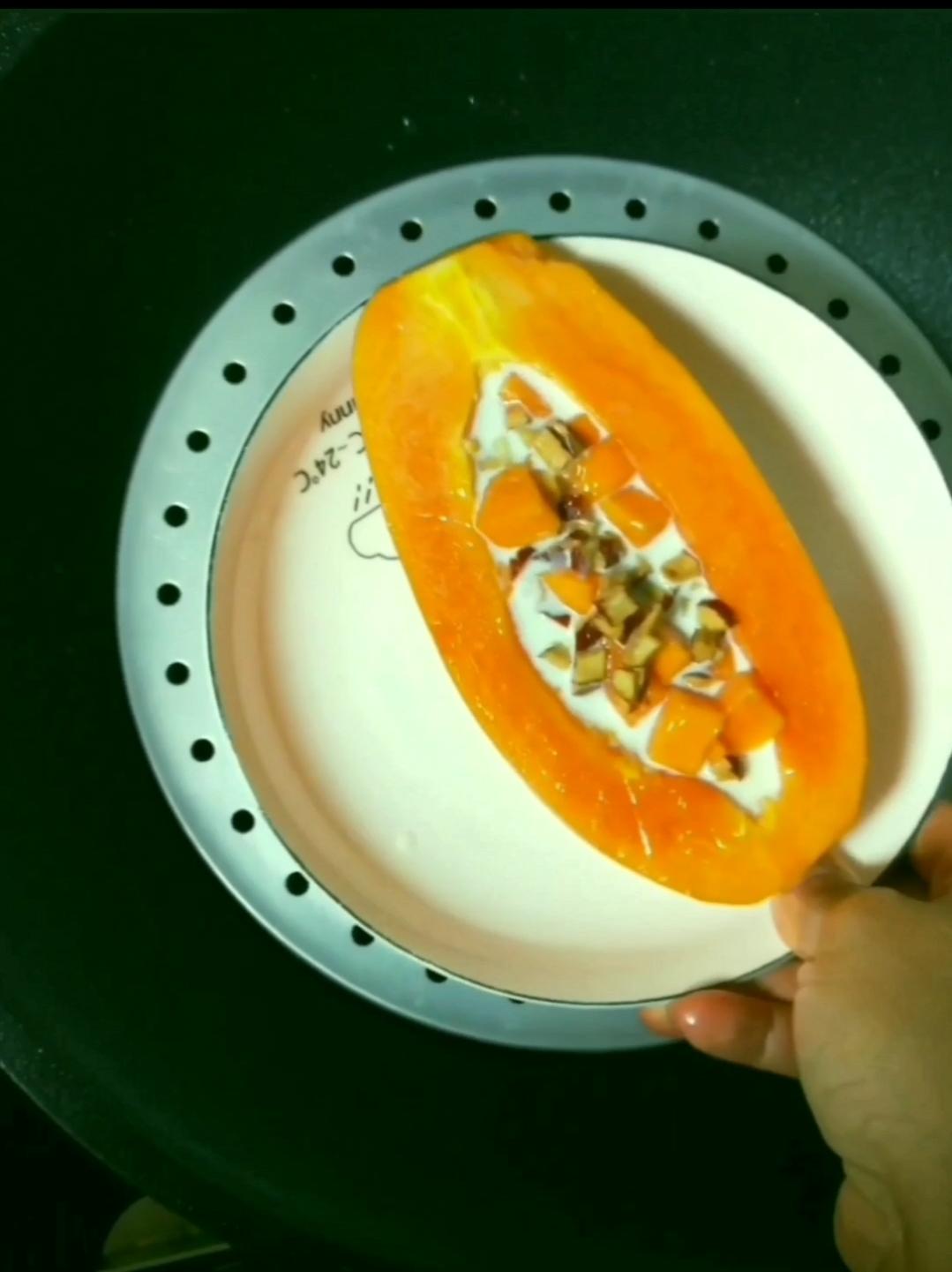 牛奶木瓜炖燕窝怎么做