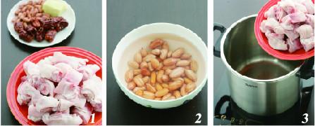 花生红枣猪蹄汤的做法大全