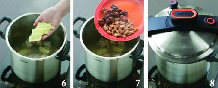 花生红枣猪蹄汤的家常做法