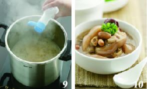 花生红枣猪蹄汤的简单做法