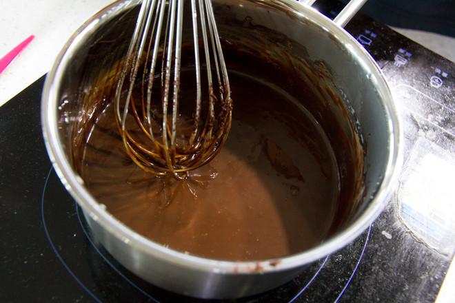 巧克力淋面戚风蛋糕的做法大全