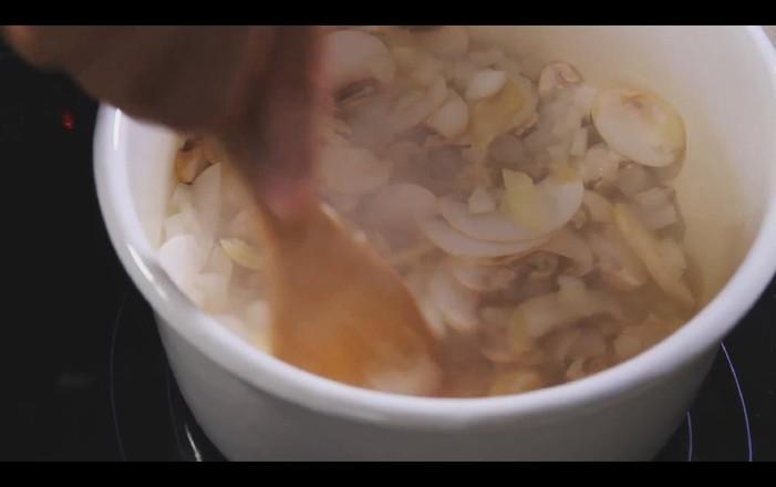 奶油蘑菇汤怎么炖