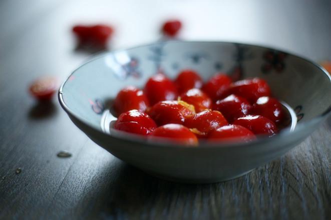 柠檬蜂蜜渍番茄的简单做法
