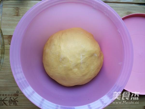 蜜豆南瓜小面包的简单做法