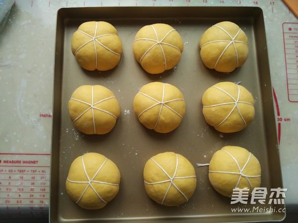 蜜豆南瓜小面包怎么煮
