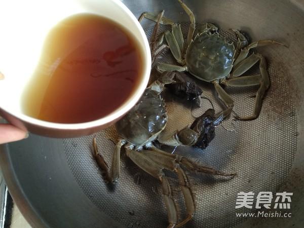 黄酒姜糖醉蟹的家常做法
