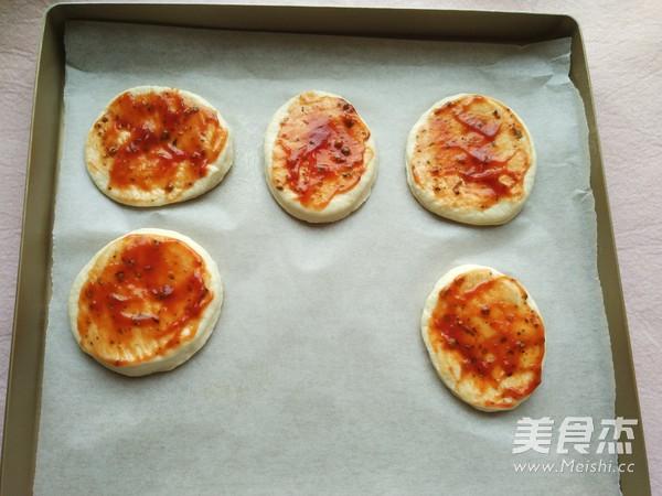 迷你披萨~面包机版怎么炖