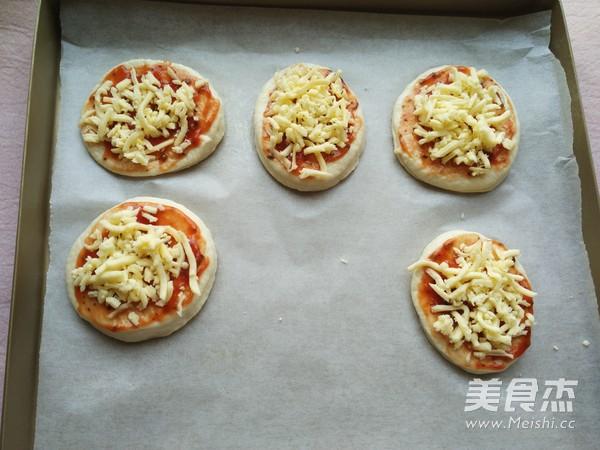 迷你披萨~面包机版怎么煸