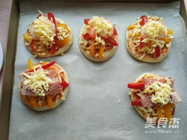 迷你披萨~面包机版怎样做