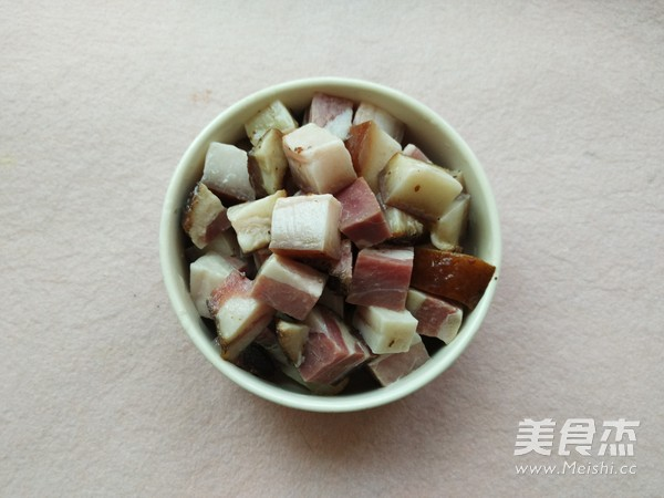 腊肉焖饭的做法图解