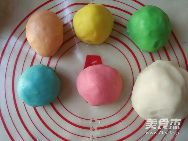 彩色冰皮月饼怎么炒
