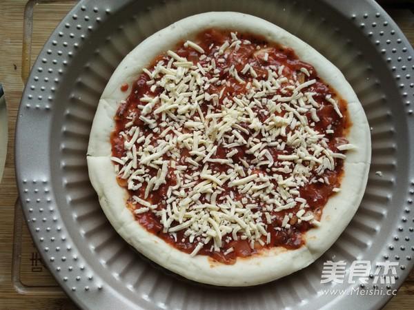 彩蔬鲜虾披萨的家常做法