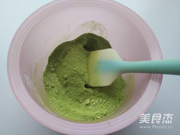 抹茶牛轧糖的做法图解