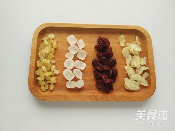 皂角米蔓越莓羹的做法大全