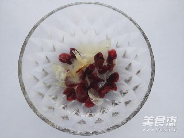 皂角米蔓越莓羹的家常做法