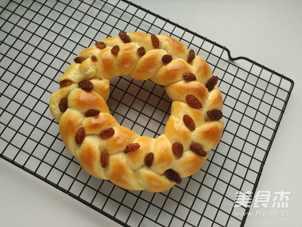 圣诞花环面包怎样炒