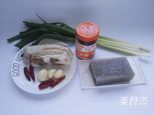回锅焖子【沙茶美食】的步骤