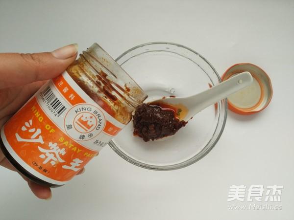 沙茶豆腐的家常做法