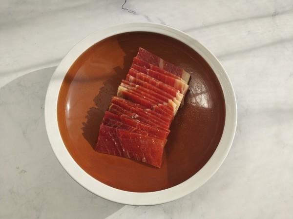 火腿蒸豆腐的做法图解