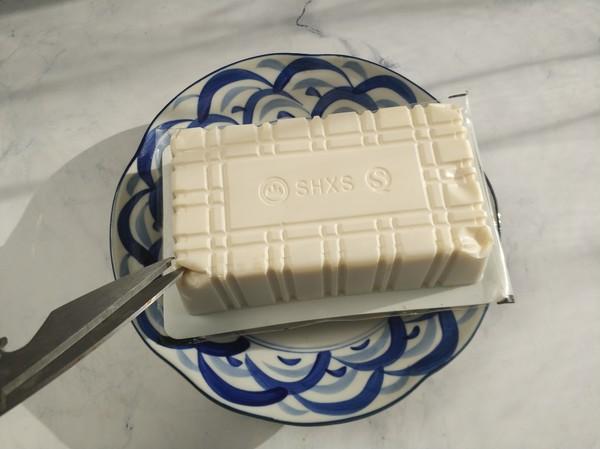 火腿蒸豆腐的家常做法
