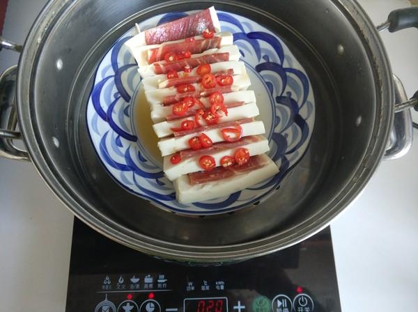 火腿蒸豆腐怎么煮