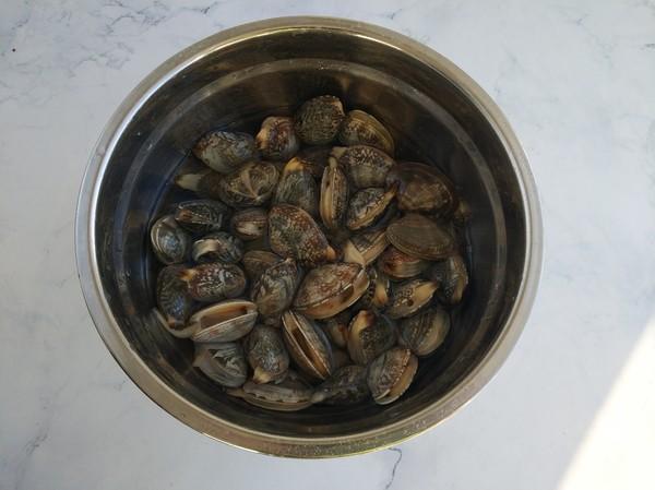 爆炒花蛤的做法大全