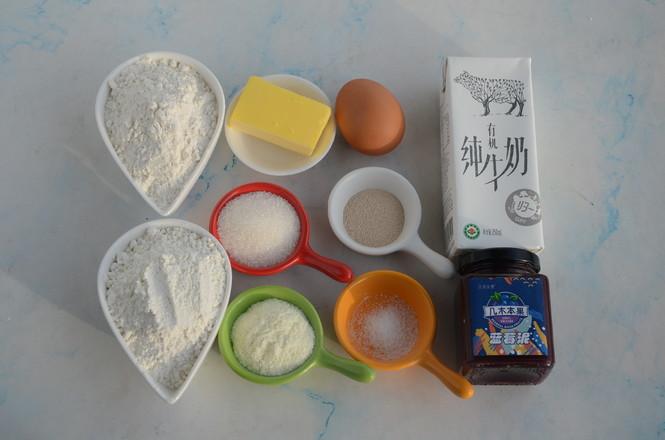 蓝莓华夫饼(酵母版)的做法大全