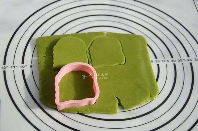 斑斓粉卡通饼干怎样做
