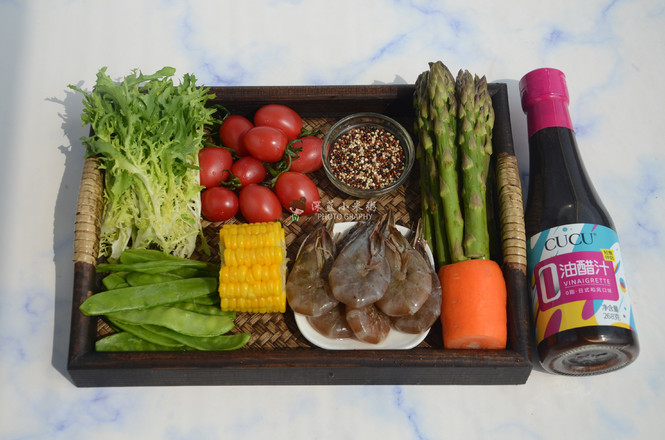 藜麦虾仁蔬菜沙拉的做法大全