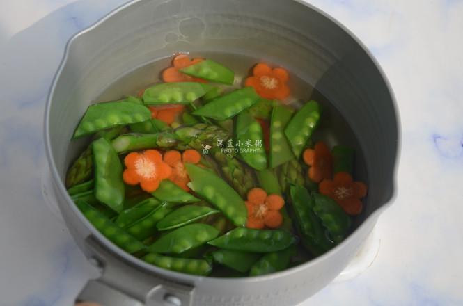 藜麦虾仁蔬菜沙拉怎么炖