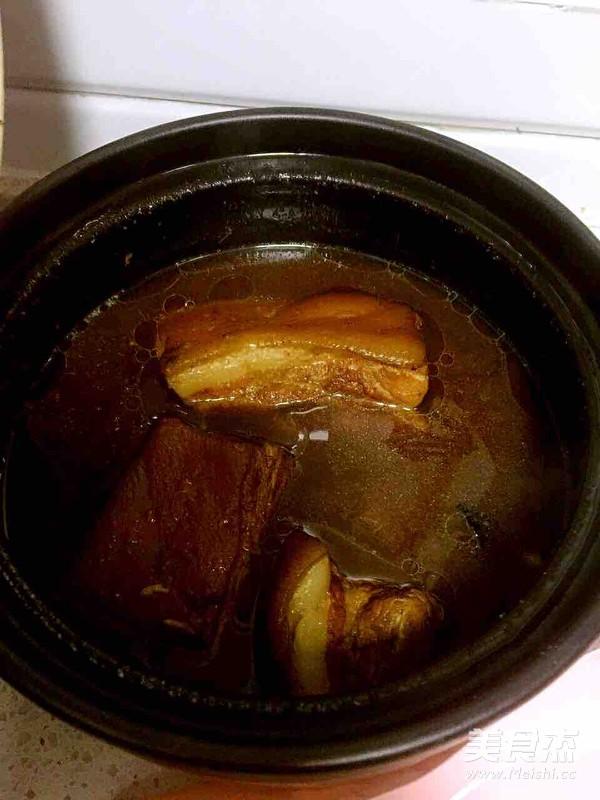 腊汁肉夹膜的步骤