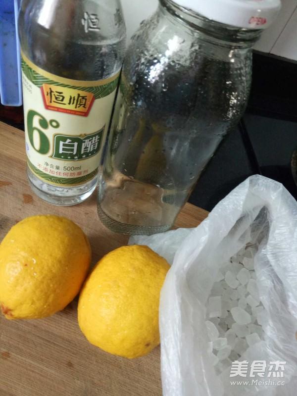 冰糖柠檬水的做法大全
