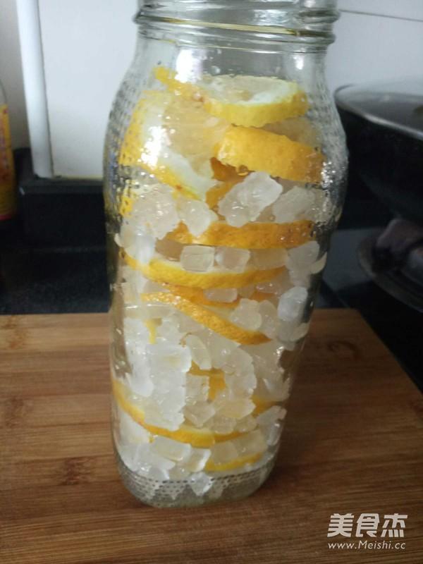 冰糖柠檬水的家常做法