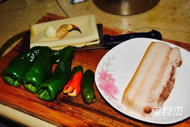 五花肉炒豆腐皮儿的做法大全