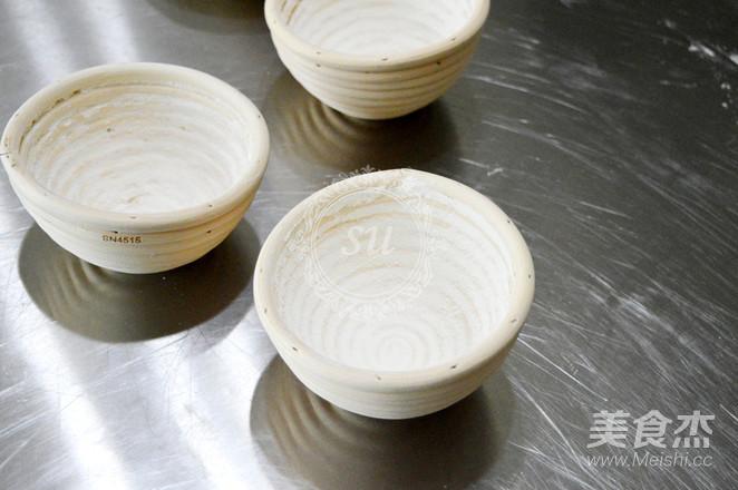 免揉全麦蔓越莓软欧包的制作方法