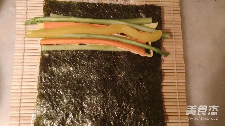 爱上素食寿司怎么煮