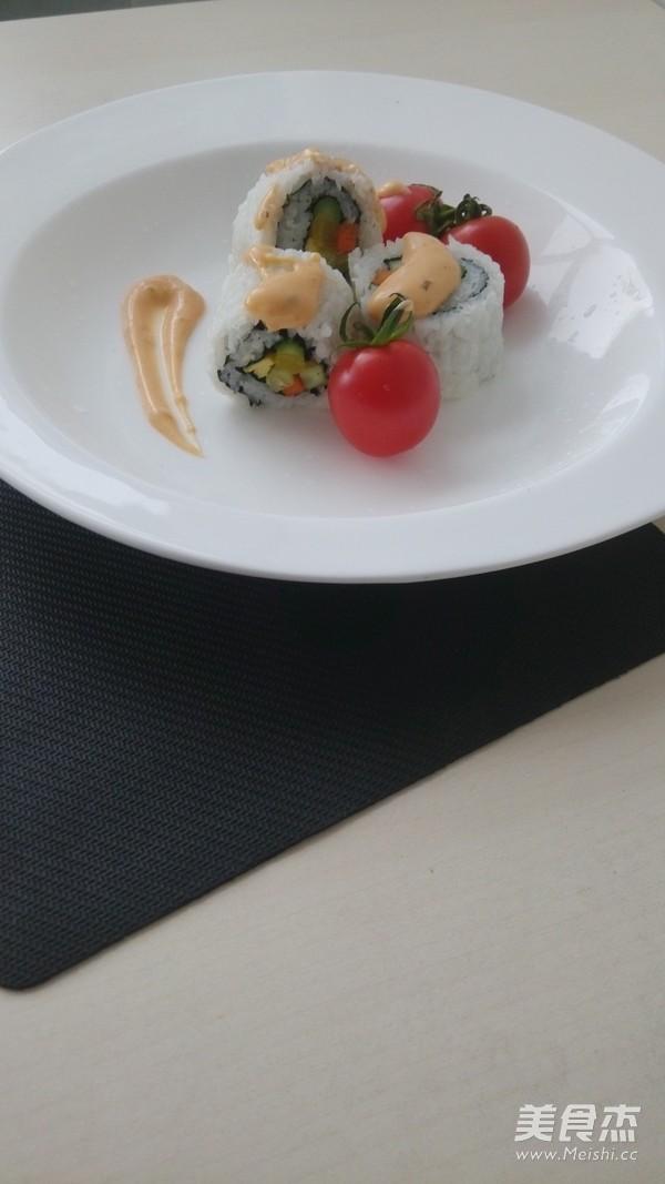 爱上素食寿司怎么煸