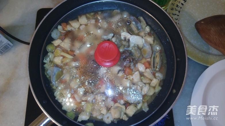 菠菜海鲜奶油意面怎么煮