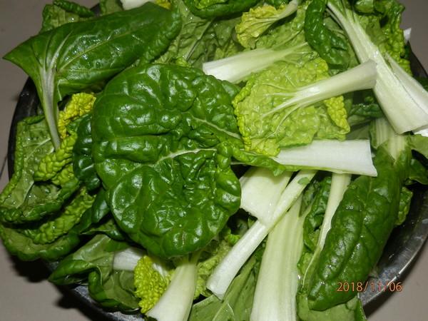 小白菜炕豆腐的做法大全