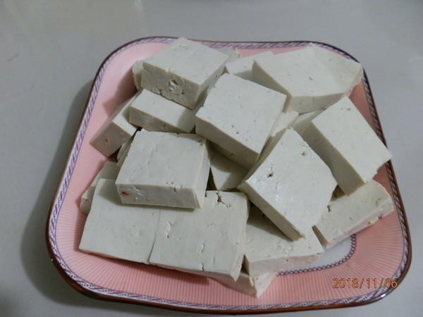 小白菜炕豆腐的做法图解