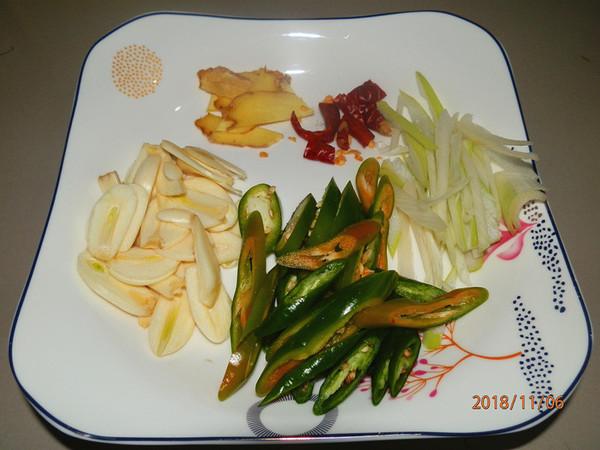小白菜炕豆腐的家常做法