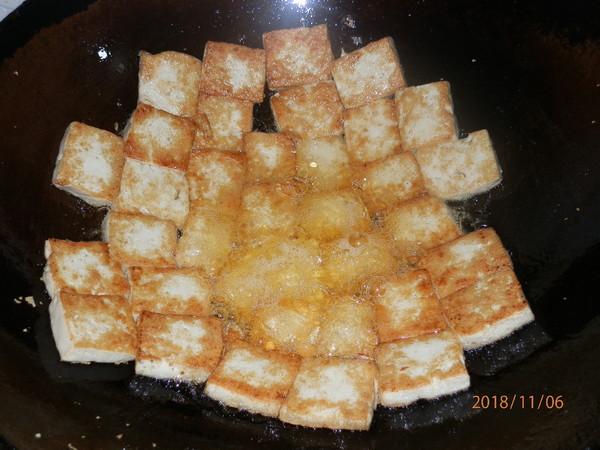 小白菜炕豆腐怎么吃