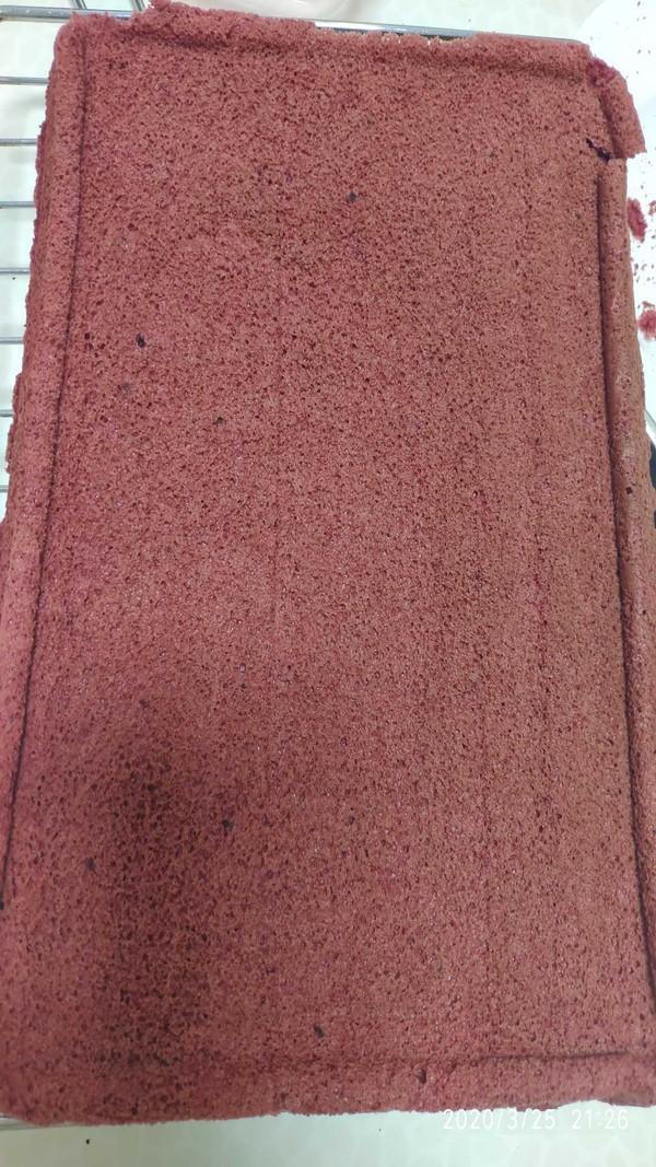 红丝绒蛋糕盒子的家常做法