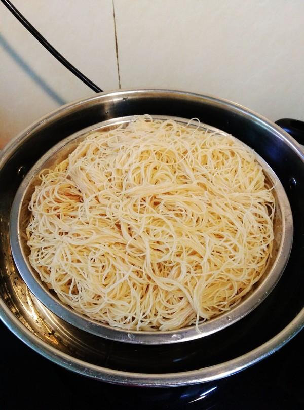 肉末蒸米粉的简单做法